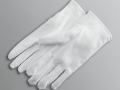 WHITE GLOVES WITH GRIPPERS