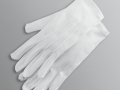 WHITE GLOVES WITHOUT GRIPPERS