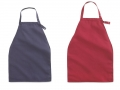 Apron Style Dignity Napkin Bib with Adjustable Snap Closure