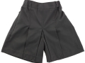 Box Pleat shorts_grey1