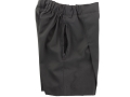 Box Pleat shorts_grey2