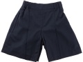 Box Pleat shorts_navy3