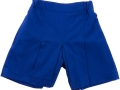 Box Pleat shorts_royal1