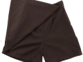 gaberdine divider skirt_brown2