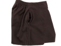 gaberdine divider skirt_brown3