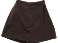 gaberdine divider skirt_brown4