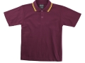 classic piquet fabric Polo with twin stripe collar2