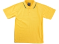 classic piquet fabric Polo with twin stripe collar3
