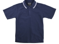 classic piquet fabric Polo with twin stripe collar4