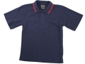 classic piquet fabric Polo with twin stripe collar5