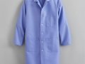 FULL LENGTH MALE LAB COAT blue