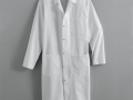 KNOT-BUTTON MALE LAB COAT