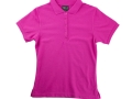 Ladies fitted polo_pink1