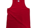 Classic cotton tank top red