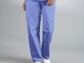 DRAWSTRING UNISEX SCRUB PANTS blue