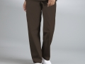 DRAWSTRING UNISEX SCRUB PANTS brown