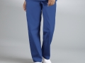 DRAWSTRING UNISEX SCRUB PANTS royal