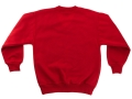 Fleecy V-Neck sweater_red1