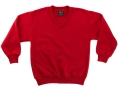 Fleecy V-Neck sweater_red5